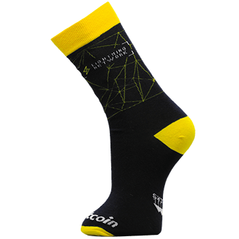 Image of Lightning Network sock